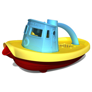 Green Toys� Tugboat - Blue