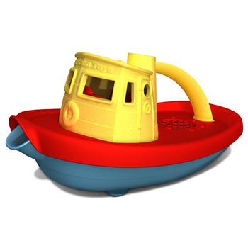 Green Toys� Tugboat - Yellow